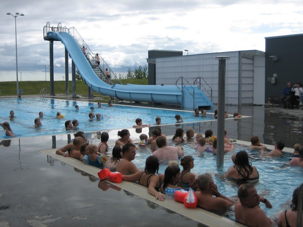 Swimming Pool In Borg Visit South Iceland