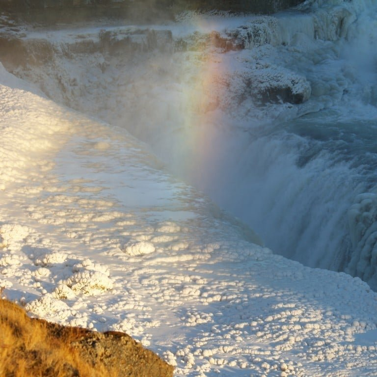Gullfoss at winter
