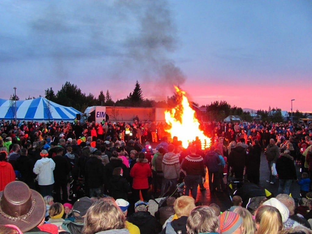 Town festival at Selfoss