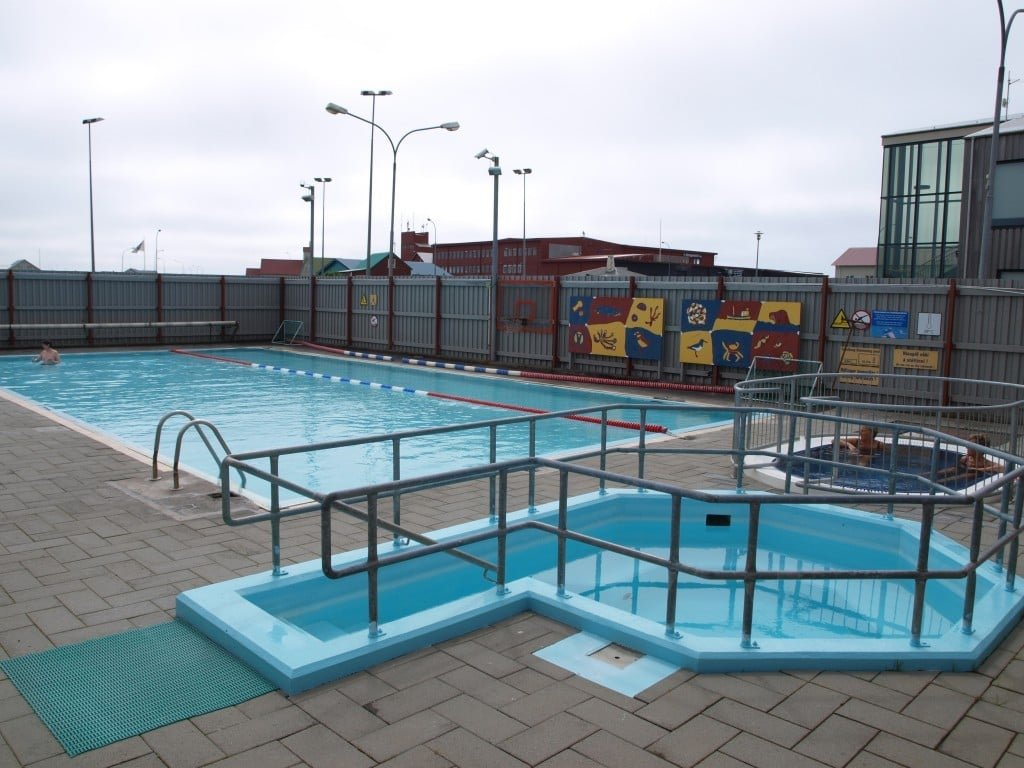 Stokkseyri swimming pool