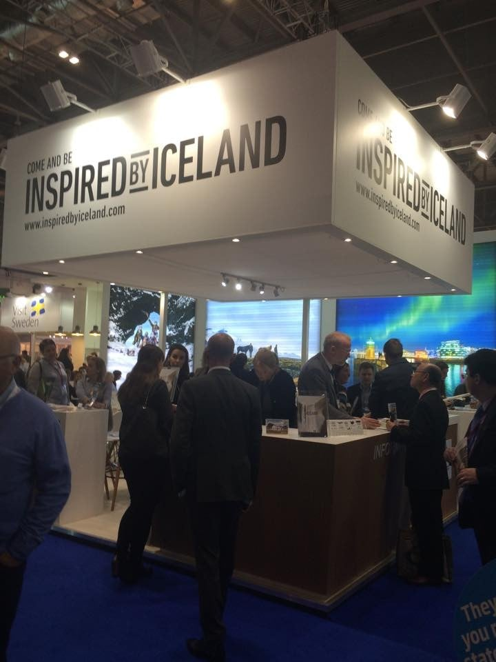 Visit South Iceland on World Travel Markt in London