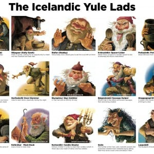 The Yule Lads are here...